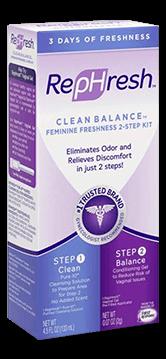 Vaginal Cleanser & Odor Eliminator   RepHresh Clean Balance